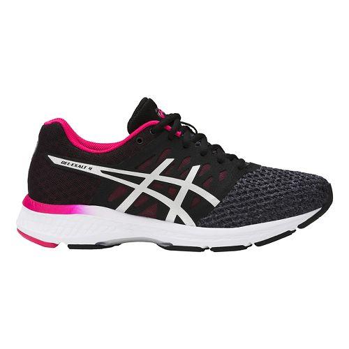 Womens ASICS GEL-Exalt 4 Running Shoe - Carbon/Pink 12