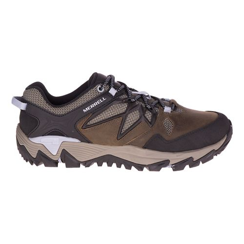 Womens Merrell All Out Blaze 2 Hiking Shoe - Dark Olive 6.5
