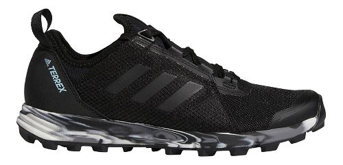 Womens adidas Terrex Agravic Speed Trail Running Shoe - Black 10