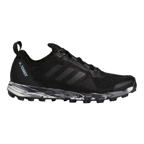 Womens adidas Terrex Agravic Speed Trail Running Shoe - Black 10.5