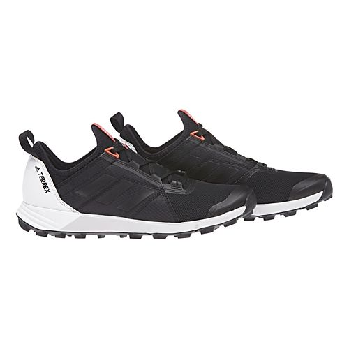 Womens adidas Terrex Agravic Speed Trail Running Shoe - Black/Black 7.5