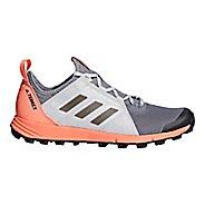 Womens adidas Terrex Agravic Speed Trail Running Shoe - White 9.5