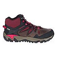 Womens Merrell All Out Blaze 2 Mid Waterproof Hiking Shoe - Cinnamon 8