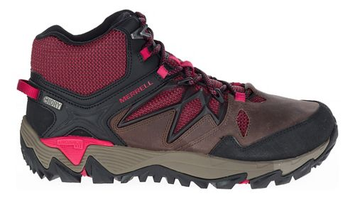 Womens Merrell All Out Blaze 2 Mid Waterproof Hiking Shoe - Cinnamon 7