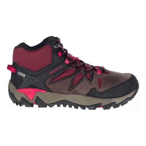 Womens Merrell All Out Blaze 2 Mid Waterproof Hiking Shoe - Cinnamon 5
