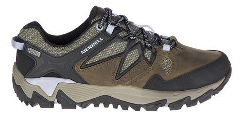 Womens Merrell All Out Blaze 2 Waterproof Hiking Shoe - Dark Olive 8