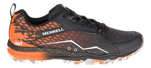 Womens Merrell All Out Crush Tough Mudder Trail Running Shoe - Orange 9.5