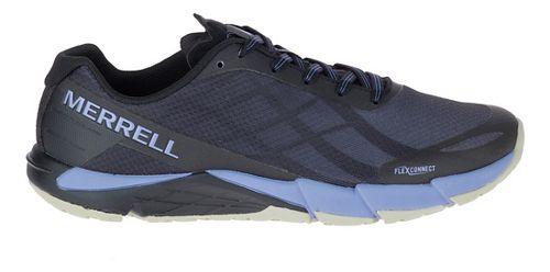 Womens Merrell Bare Access Flex Running Shoe - Black/Lilac 8