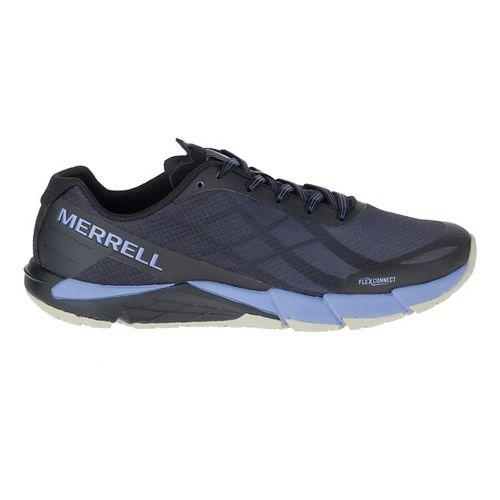 Womens Merrell Bare Access Flex Running Shoe - Black/Lilac 10.5