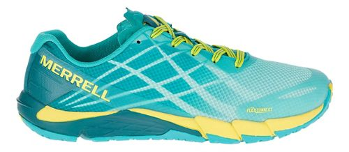 Womens Merrell Bare Access Flex Running Shoe - Aruba Blue 7.5