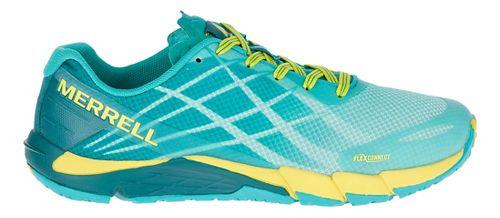 Womens Merrell Bare Access Flex Running Shoe - Aruba Blue 9