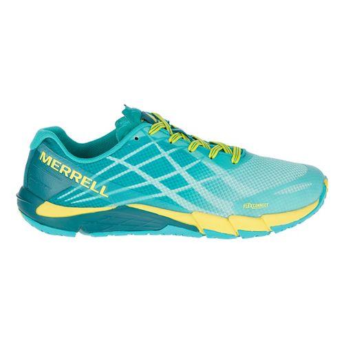 Womens Merrell Bare Access Flex Running Shoe - Aruba Blue 7