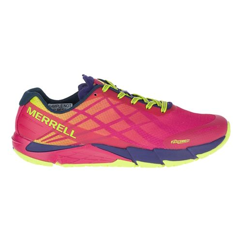 Womens Merrell Bare Access Flex Running Shoe - Persian Red 9.5