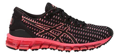 Womens ASICS GEL-Quantum 360 Shift Running Shoe - Black/Coral 10.5