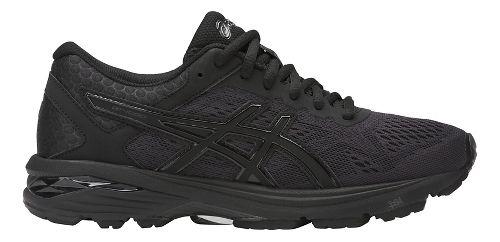 Womens ASICS GT-1000 6 Running Shoe - Black/Black 7.5