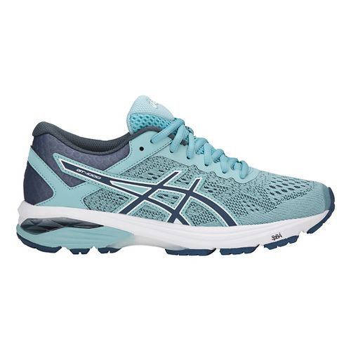 Womens ASICS GT-1000 6 Running Shoe - Blue/White 12