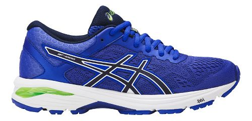 Womens ASICS GT-1000 6 Running Shoe - Blue/Indigo 10