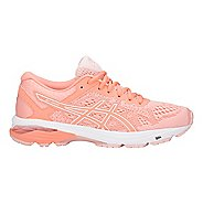 Womens ASICS GT-1000 6 Running Shoe - Pink/White 12