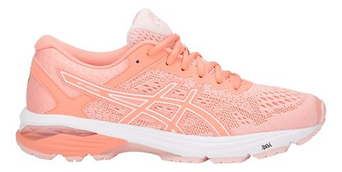 Womens ASICS GT-1000 6 Running Shoe - Pink/White 9