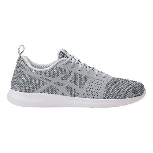 Womens ASICS Kanmei Casual Shoe - Grey/White 7.5