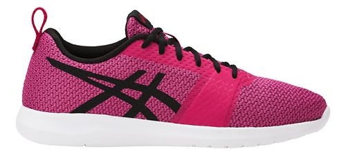 Womens ASICS Kanmei Casual Shoe - Cosmo Pink/Black 7.5