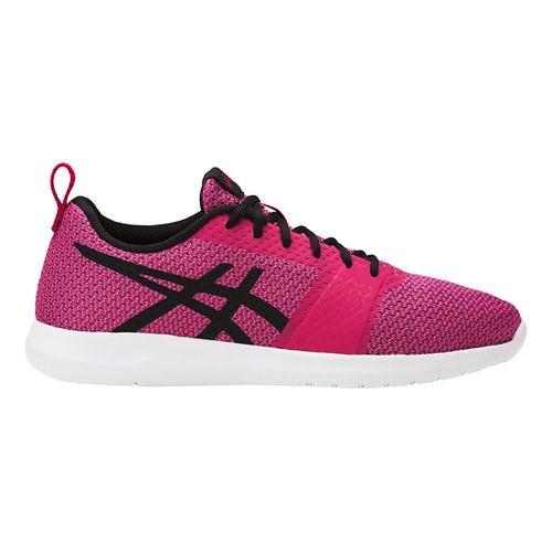 Womens ASICS Kanmei Casual Shoe - Black/White 8.5