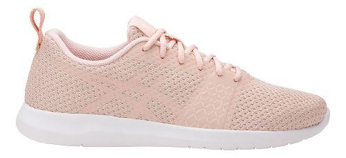 Womens ASICS Kanmei Casual Shoe - Light Pink/White 11