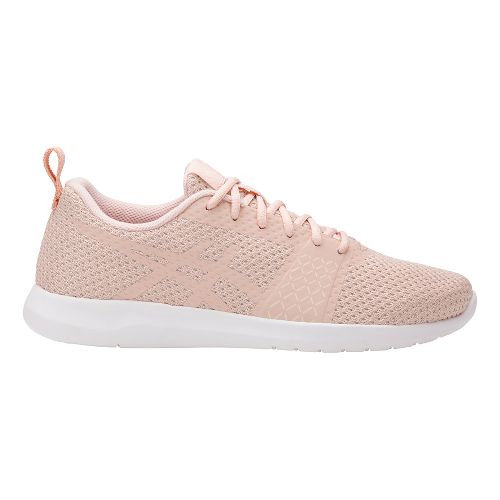 Womens ASICS Kanmei Casual Shoe - Light Pink/White 6