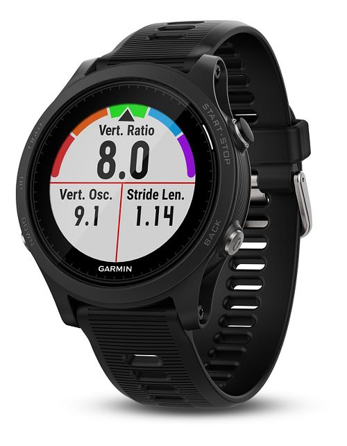 Garmin Forerunner 935 GPS Running and Triathlon Watch + Wrist HRM Monitors - Black/Grey