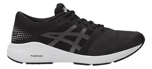 Womens ASICS Roadhawk FF Running Shoe - Black/Silver 12