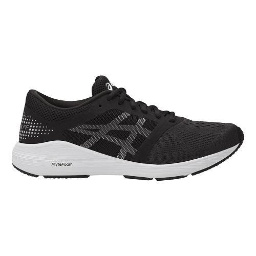 Womens ASICS Roadhawk FF Running Shoe - Black/Silver 10