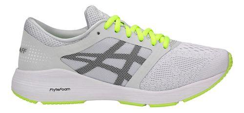 Womens ASICS Roadhawk FF Running Shoe - Grey/Black/Yellow 8