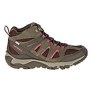 Womens Merrell Outmost Mid Vent Waterproof Hiking Shoe - Canteen 6