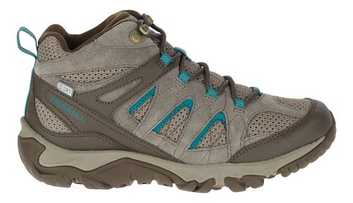 Womens Merrell Outmost Mid Vent Waterproof Hiking Shoe - Boulder 7.5