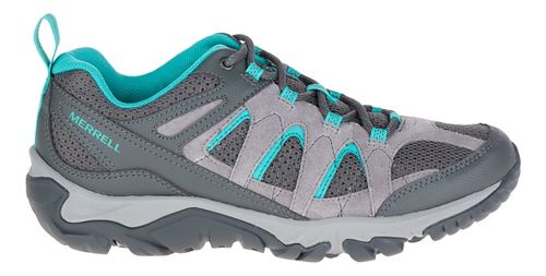 Womens Merrell Outmost Vent Hiking Shoe - Frost Grey 7