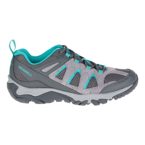 Womens Merrell Outmost Vent Hiking Shoe - Frost Grey 11