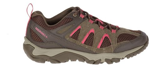 Womens Merrell Outmost Vent Hiking Shoe - Canteen 10.5