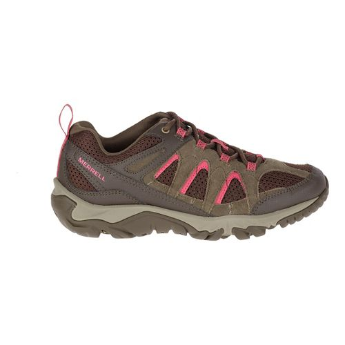 Womens Merrell Outmost Vent Hiking Shoe - Canteen 7.5