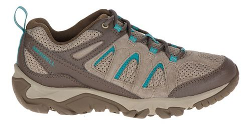 Womens Merrell Outmost Vent Hiking Shoe - Boulder 8