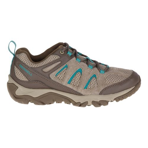 Womens Merrell Outmost Vent Hiking Shoe - Boulder 10.5