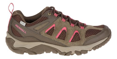 Womens Merrell Outmost Vent Waterproof Hiking Shoe - Canteen 7.5
