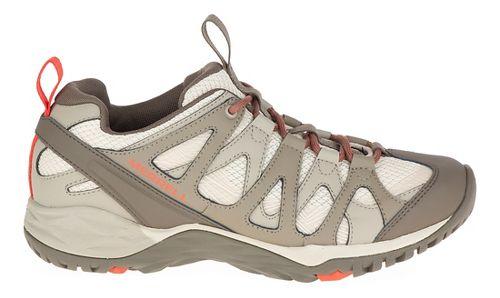 Womens Merrell Siren Hex Q2 Hiking Shoe - Oyster Grey 8.5