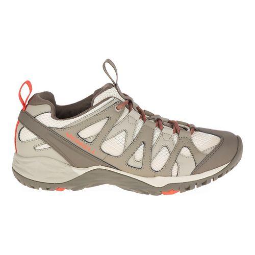 Womens Merrell Siren Hex Q2 Hiking Shoe - Oyster Grey 9.5