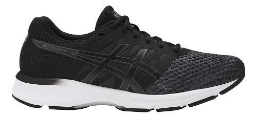 Mens ASICS GEL-Exalt 4 Running Shoe - Dark Grey/Black 8.5