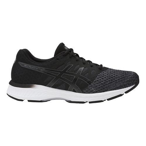 Mens ASICS GEL-Exalt 4 Running Shoe - Dark Grey/Black 9