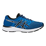 Mens ASICS GEL-Exalt 4 Running Shoe - Blue/Black 11