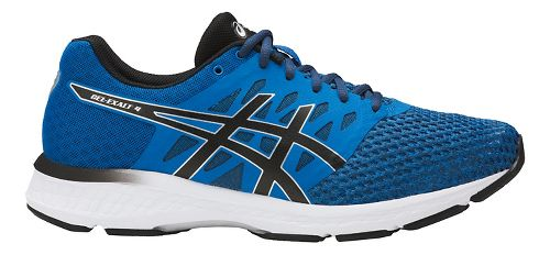 Mens ASICS GEL-Exalt 4 Running Shoe - Blue/Black 9