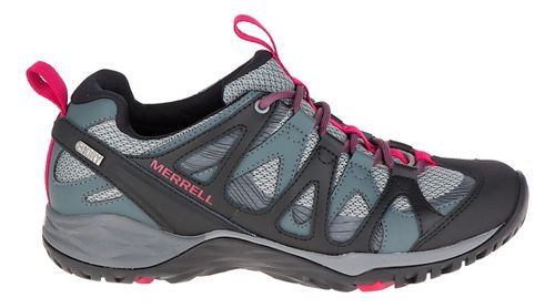 Womens Merrell Siren Hex Q2 Waterproof Hiking Shoe - Turbulence 5
