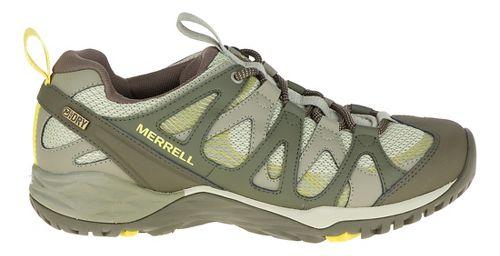 Womens Merrell Siren Hex Q2 Waterproof Hiking Shoe - Olive 10.5