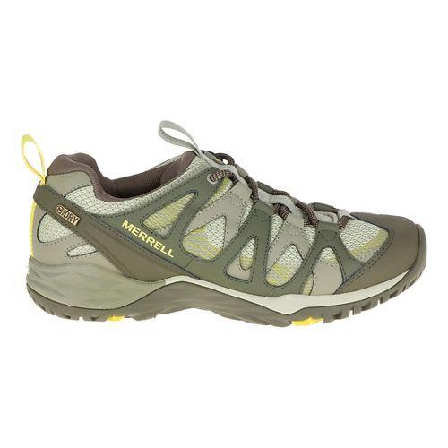 Womens Merrell Siren Hex Q2 Waterproof Hiking Shoe - Olive 5